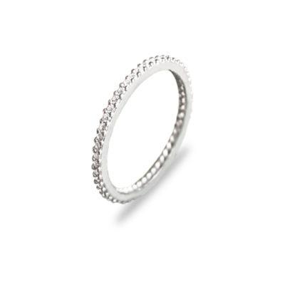 Prekrasan eternity srebrni prsten s cirkonima internet trgovina webshop srebrni nakit besplatna dostava