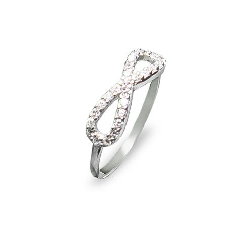 Prekrasan srebrni infinity prsten internet trgovina webshop srebrni nakit besplatna dostava