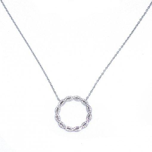 srebrni lančić